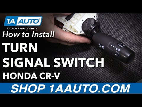 How to Replace Turn Signal Switch 07-11 Honda CR-V
