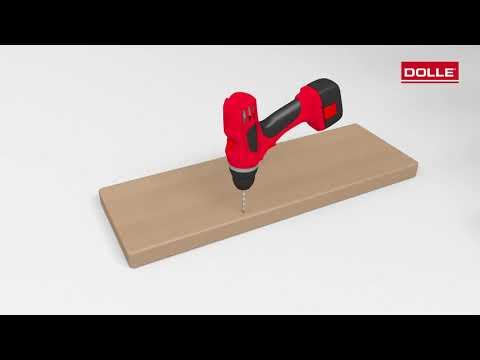 Dolle Mittelholmtreppe Cork für Geschosshöhen 222-292cm-youtube_img