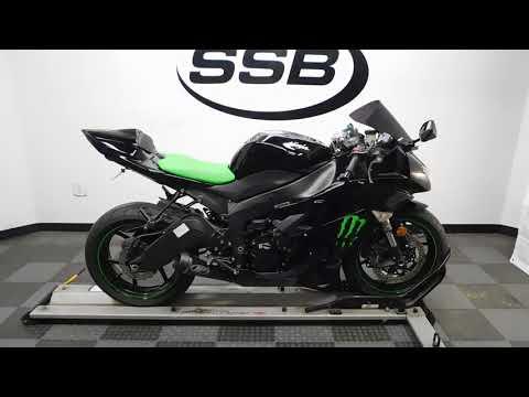 2009 Kawasaki Ninja® ZX™-6R Monster Energy® in Eden Prairie, Minnesota