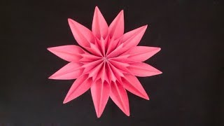 How To Make Beautiful Paper Flowers Paper Flower Craft Paper