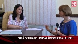Cum Se Completează Fișa De înscriere La Liceu, LIVE Cu Inspectorul şcolar Liliana Toderiuc