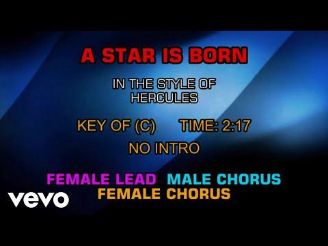 From the disney movie hercules   a star is born  karaoke