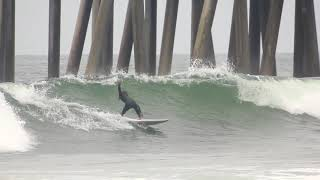 Surfing HB Pier | April 26th | 2018 (RAW)