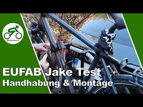EUFAB Jake Test - Fahrradträger für die AHK