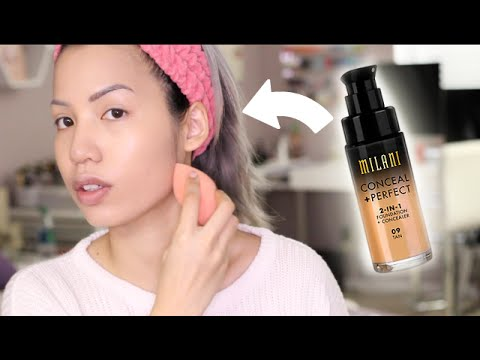 BRAND NEW | MILANI 2 IN 1 FOUNDATION & CONCEALER REVIEW