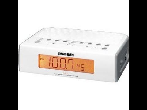 Sangean RCR-5, Classy Clock Radio
