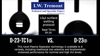 Newswise:Video Embedded high-performance-plasma-separator-media-is-designed-to-optimize-small-sample-diagnostic-device-performance