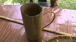 preview picture of video 'BABAGON KAAMATAN 2014  = BLOWPIPES AND HANDICRAFT'