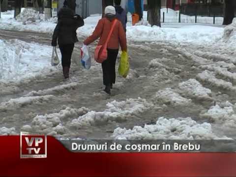 Drumuri de coşmar în Brebu
