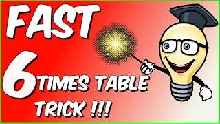Fast 6 times table trick!!!