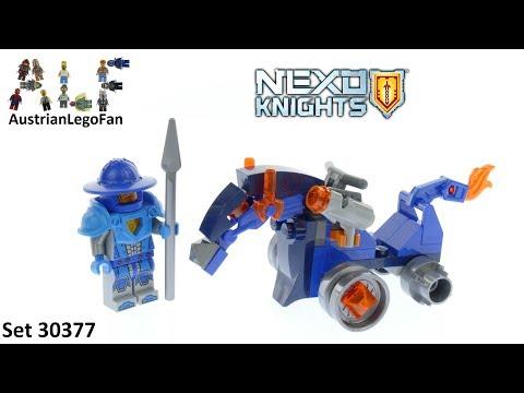 Vidéo LEGO Nexo Knights 30377 : Motor Horse (Polybag)