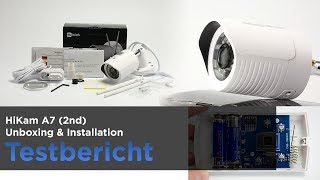 Die HiKam A7 (2te Generation) im Test - Teil 1: Unboxing, Sensor und Installation