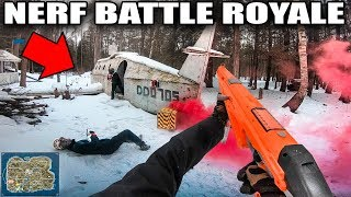 NERF WAR! Epic Battles Using NERF Blaster Arsenal (Ravenfield Nerf