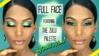Full Face Ft. The Zulu Palette by Juvia's Place