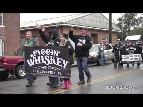 Jack Daniel's World Championship Invitational Barbecue Parade 4k