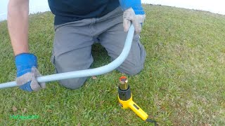 Bending PVC Conduit