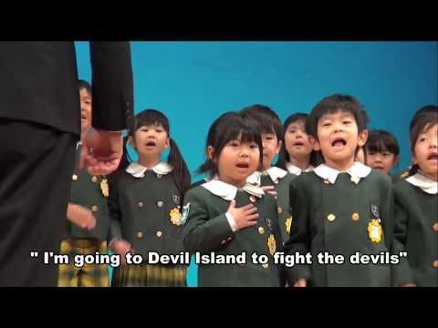 H30年度 朝日塾幼稚園 生活発表会 5歳児英語