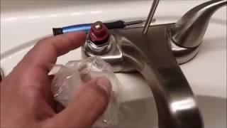 how to repair aquasource bathroom faucet
