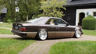 Tuning Mercedes W124 Coupe