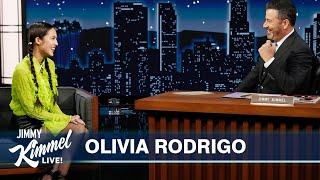 Olivia Rodrigo on Writing Songs, Visiting the White House, Rolling Stone Cover & Her Album Sour