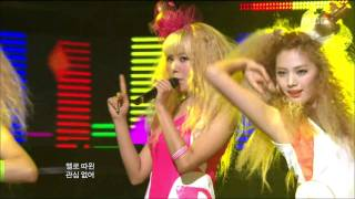 Orange Caramel - Bangkok City, 오렌지 캬라멜 - 방콕 시티, Music Core 20110409