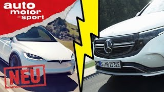 Mercedes-Benz EQC: Ernste Konkurrenz für das Tesla Model X? - Sitzprobe/Review | auto motor & sport