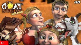 Keçi Hikayesi 2 - Hareketli aile Filmi -  Çizgi Film - TRT Ailesi -  Goat story 2 in Turkish
