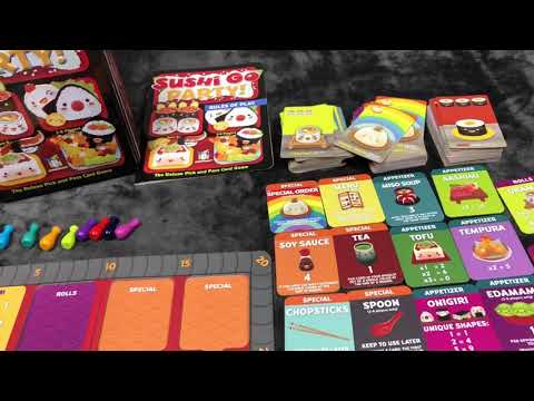 Sushi Go Party! - An Adorable Pick n' Pass