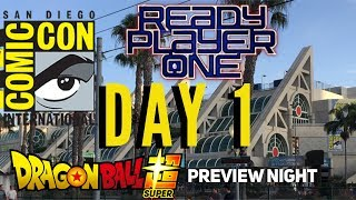 Preview night San Diego Comic Con 2018 Ready Player One Party Dragonball