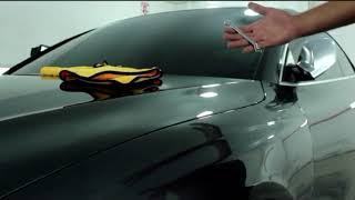 58XCar 10H PRO Ceramic Coating Anti Scratch Testing On Audi RS5
