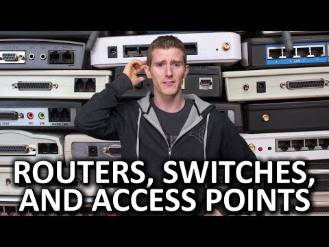 Routers vs. Switches vs. Access Points – And More