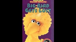 Opening & Closing To Sesame Street:Big Bird Gets Lost 1998 VHS