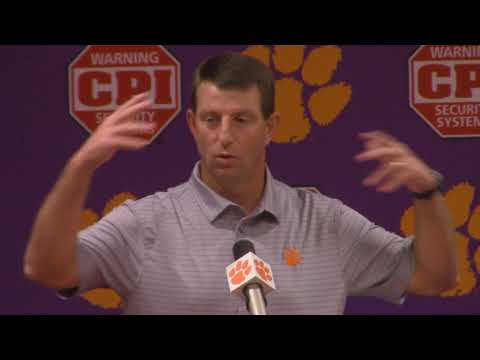 TigerNet: Swinney previews Virginia Tech, pt. 1