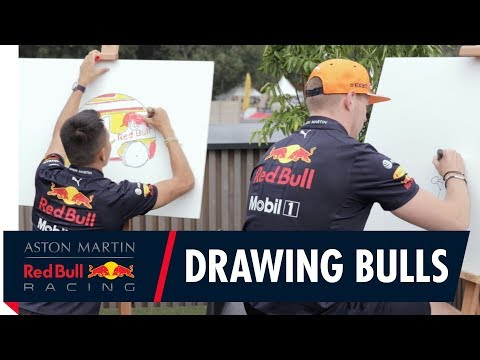 Max Verstappen and Alex Albon Design Box Carts With Red Bull Japan