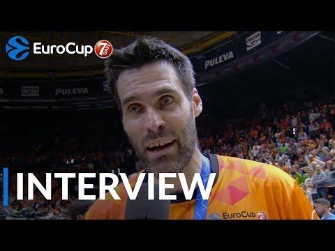 Finals interview: Fernando San Emeterio, Valencia