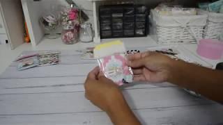 Embellished Bag Topper | Packaging | My Mini Note Booklet