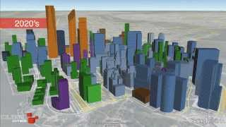 Lower Manhattan Growth Animation (1840-2020)