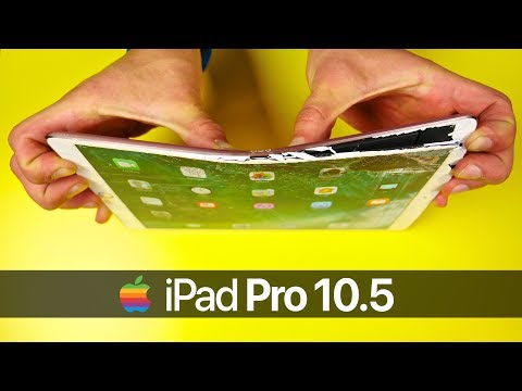 iPad Pro 10.5 Drop Test & Bend Test!