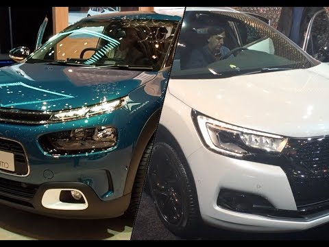 Citroen  Ds4 Crossback Хетчбек класса C - тест-драйв 4
