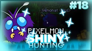 Venonat  - (Pokémon) - SHINY VENONAT!! Live Reaction! Pixelmon Minecraft Shiny Pokemon! #18