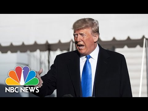 Trump: Giuliani 'Will Make A Report' To The Attorney General And Congress | NBC News