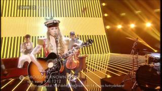 Should've Known Better, Soluna Samay, Dansk Melodi Grand Prix 2012