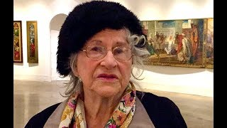 Retired Artist, Teacher extols Violet Oakley and museum exhibit