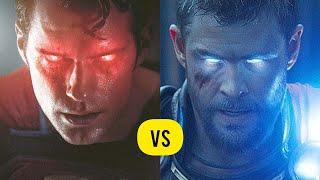 Superman vs Thor Explained in Hindi ||SUPER INDIA||