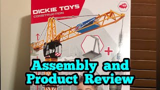 Product Review | Dickie Toys Construction Giant Crane with Remote Control