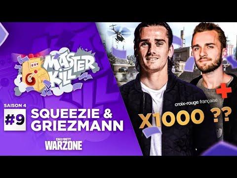 UN MASTERKILL x1000 AVEC ANTOINE GRIEZMANN ! (ft. Squeezie, Doigby)