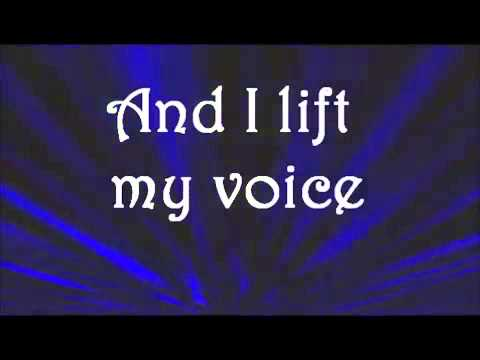 I love u lord and I lift my voice
