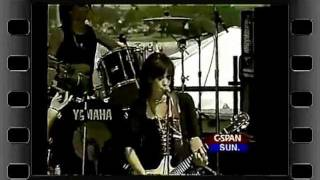 Joan Jett  Spinster  FUCK YOU    LIVE on CSPAN
