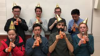 Happy Birthday Contest - Jeff Anderle and the SFCM Carrot-net Ensemble