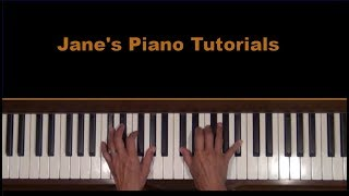 Stardust by Hoagy Carmichael Piano Cover and Tutorial